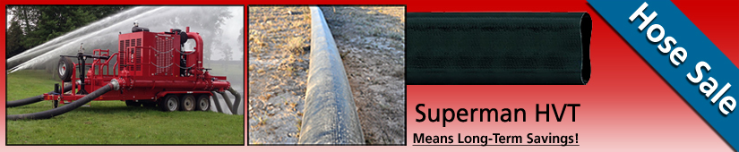 "Cadman 10"" Superman Lay Flat Hose Sale"